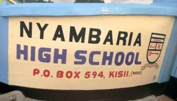 List Of Best Performing Secondary Schools in Nyamira County