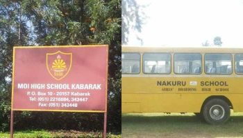 List Of Best Performing Secondary Schools in Nakuru County