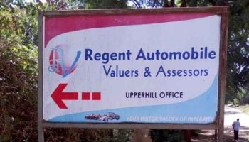 List of Regent Automobile Valuers Branches in Kenya
