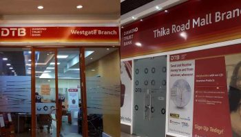 List of Diamond Trust Bank (DTB) Branches and Contacts