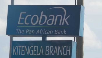 List Of All Ecobank Branch Codes in Kenya