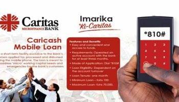List of Caritas Microfinance Bank Loan Products