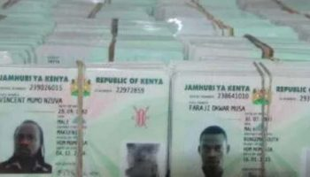 Categories Of Applications For Identity Cards (ID) In Kenya