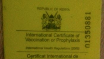 List Of Vaccinations Required To Travel To Kenya