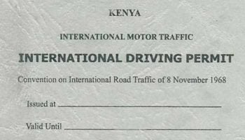 How To Get An International Driving Permit In Kenya