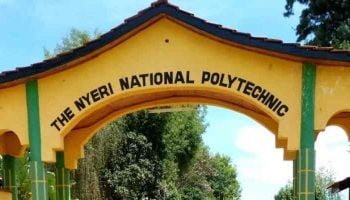 List of Courses Offered at The Nyeri National Polytechnic