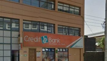 List of Credit Bank Branches In Nairobi
