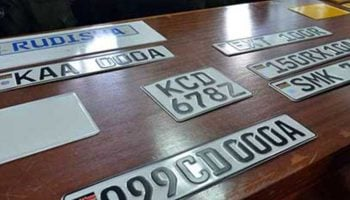 How To Register A New Number Plate In Kenya