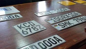 How To Replace A Lost Or Defaced Number Plate In Kenya