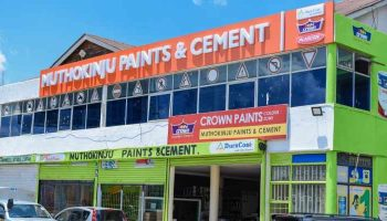 List of Muthokinju Paints and Cement Branches
