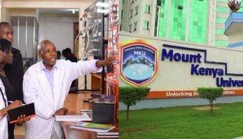 MKU School of Engineering Fees Structure