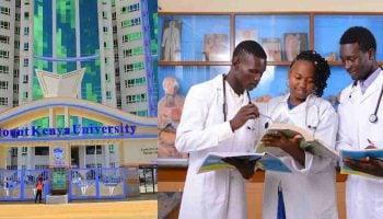 Mount Kenya University School Of Medicine Fees Structure
