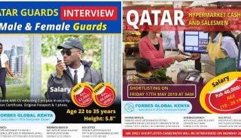 List Of Best Qatar Job Agents In Kenya